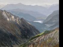 Jezioro w Alpach, 2016