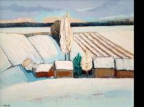 Winter landscape, 2017