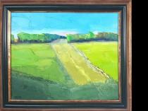 Green landscape, 2020