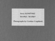 Collector's Portfolio Jerzy Kosiński Masks, 1981 - 1988