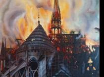 Notre Dame w płomieniach, 2021