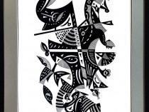Czaro-białe metamorfozy Kandinsky'ego, 2020 - 2021