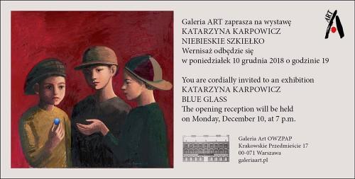 Wernisaż wystawy malarstwa Katarzyny Karpowicz